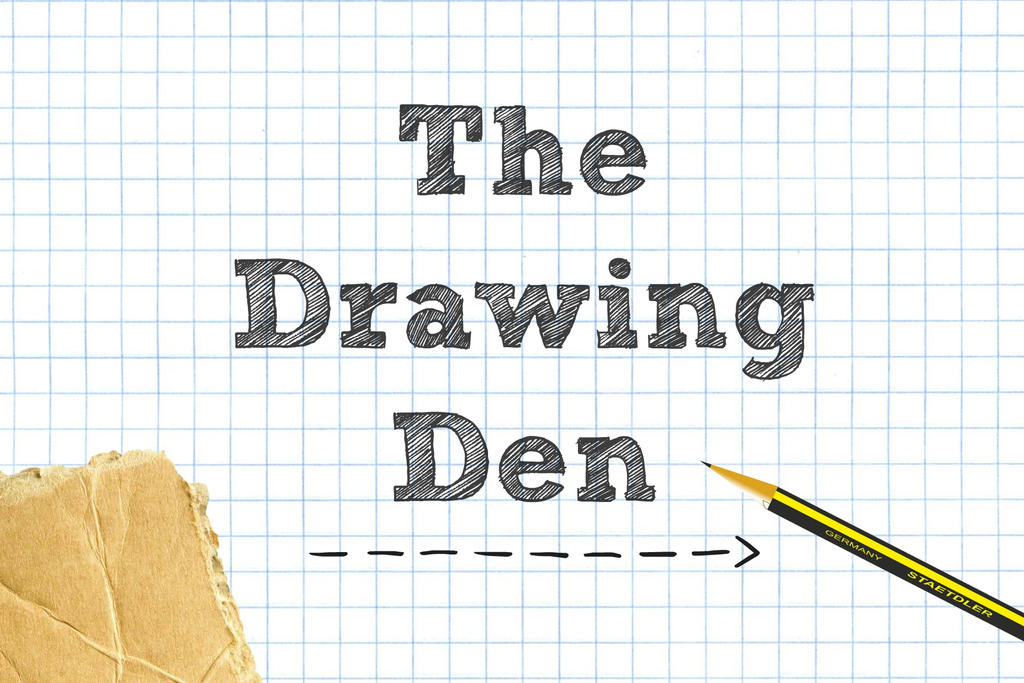 Drawing Den Header by CosmosKitty