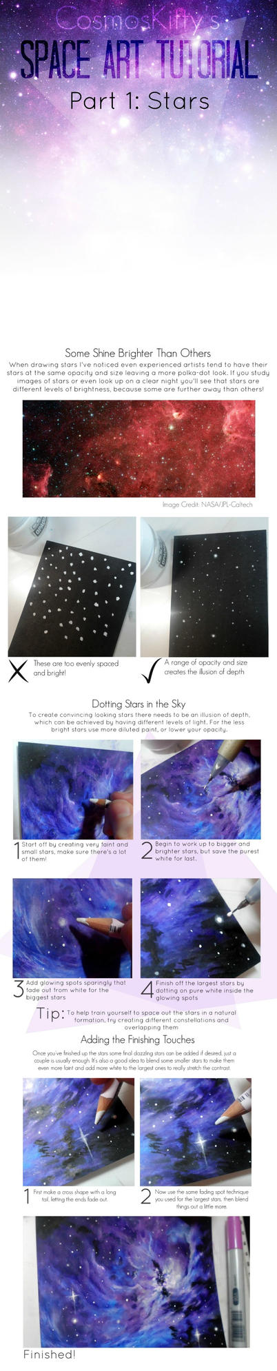 Space Art Tutorial: Part 1 by CosmosKitty