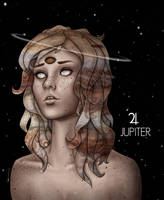 Personified Planets: Jupiter by CosmosKitty
