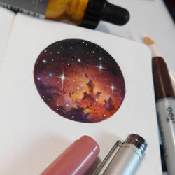 Starry Doodle #3