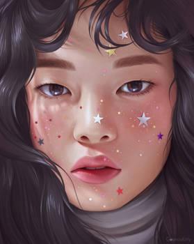 Freckled Stars (Study)