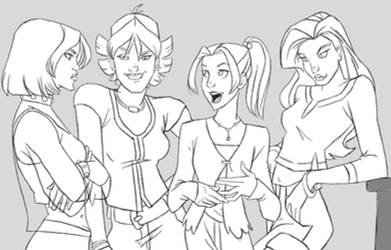 Lovely Ladies by WAM-Inque
