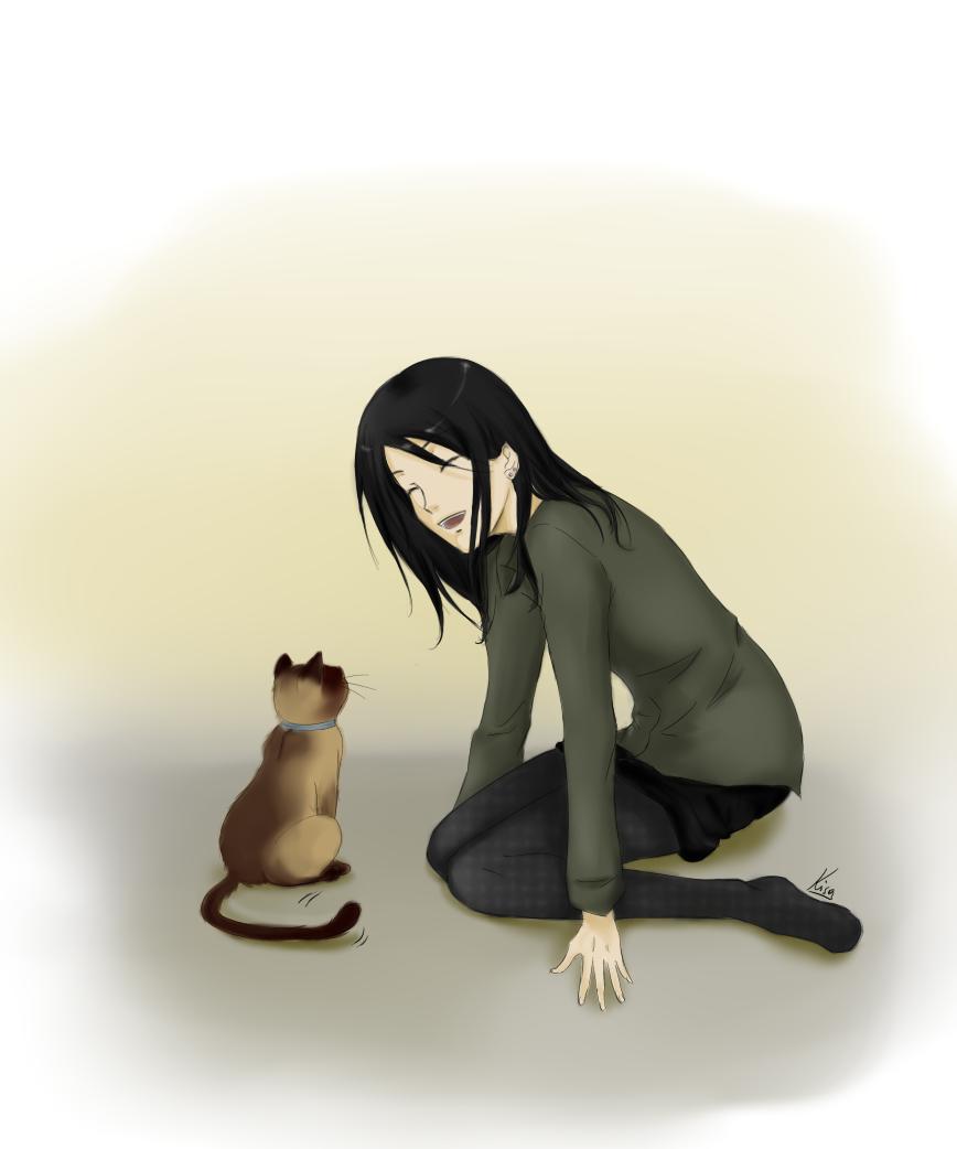 Capu and Me by kisa11