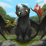 Toothless and the Terrible Terror