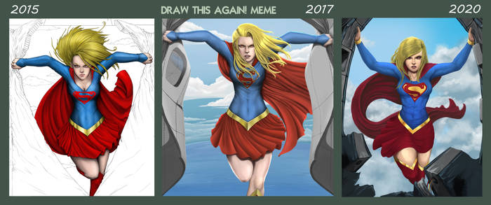 Draw this again Supergirl. by SmallTitan