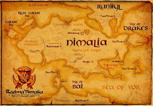Raelma'Nimalia Map