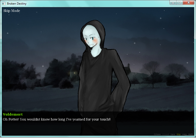 harry potter dating sim game