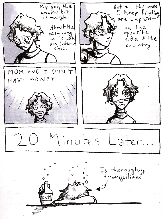A College Student's Anxiety by KelciD on DeviantArt