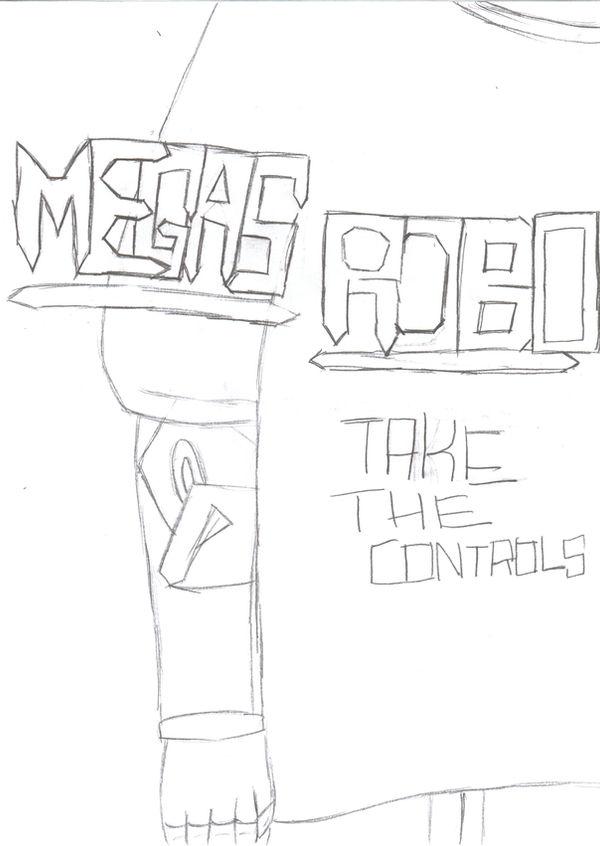 Megas Robo Cover Art 1