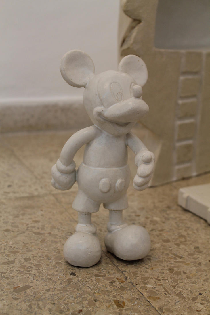 Ceramic Mickey by Eingel91
