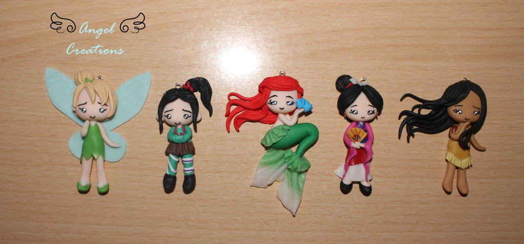 Some Disney dolls by Eingel91