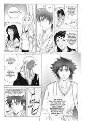 My first manga page by shisleya