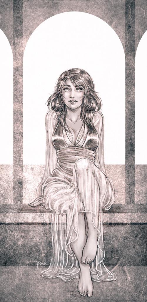 Odalisque II by shisleya