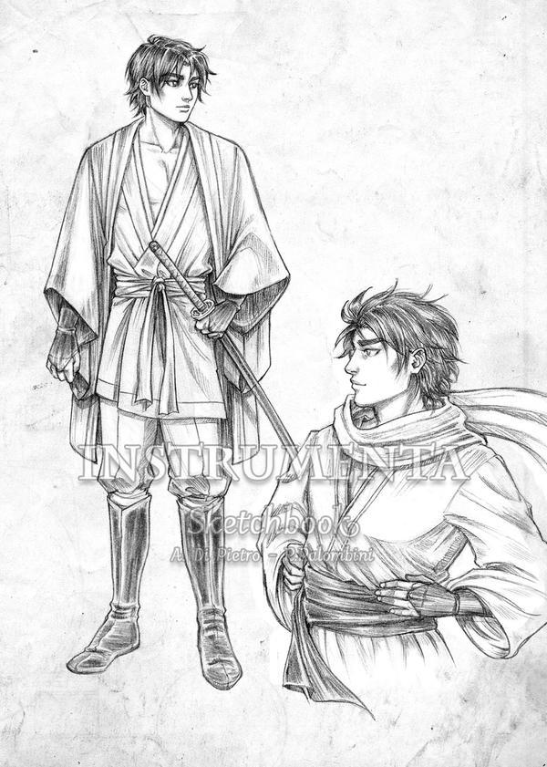 Aki character sheet preview by shisleya