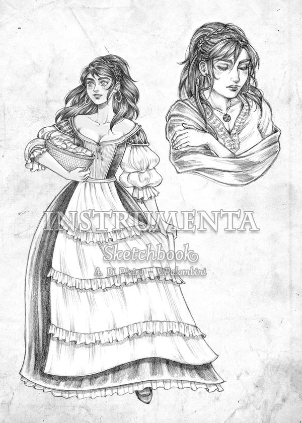 Dejanira character sheet preview by shisleya
