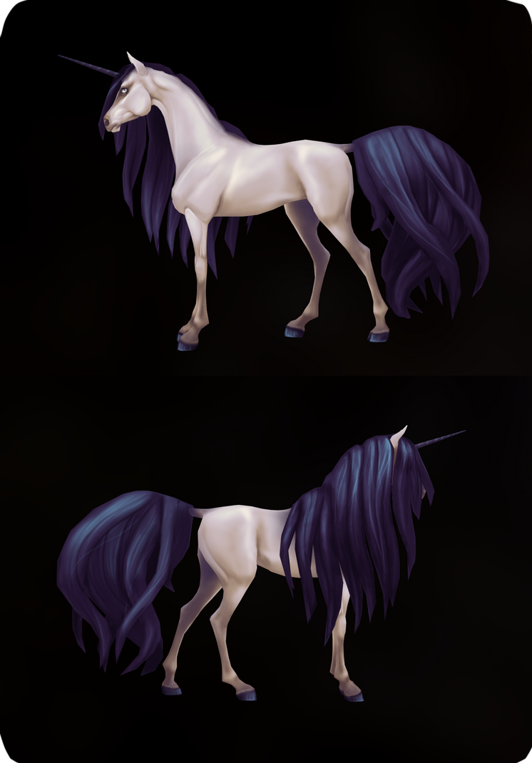 Unicorn Model by Lolilith