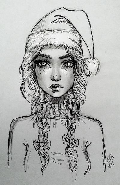 Santa Girl by Xenonia