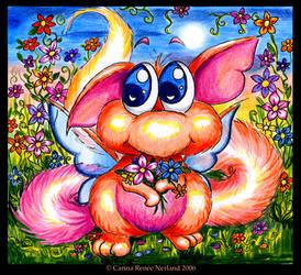 Where Fluffy Cuteness Blossoms by Xenonia