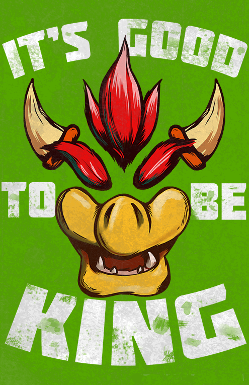 It's Good to be King: T-shirt by Littletde