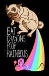 T-shirt: Eat Crayons. Poop Rainbows.