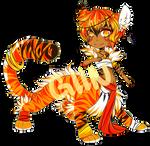 [ CLOSED ] Fantasy Tiger Adoptable