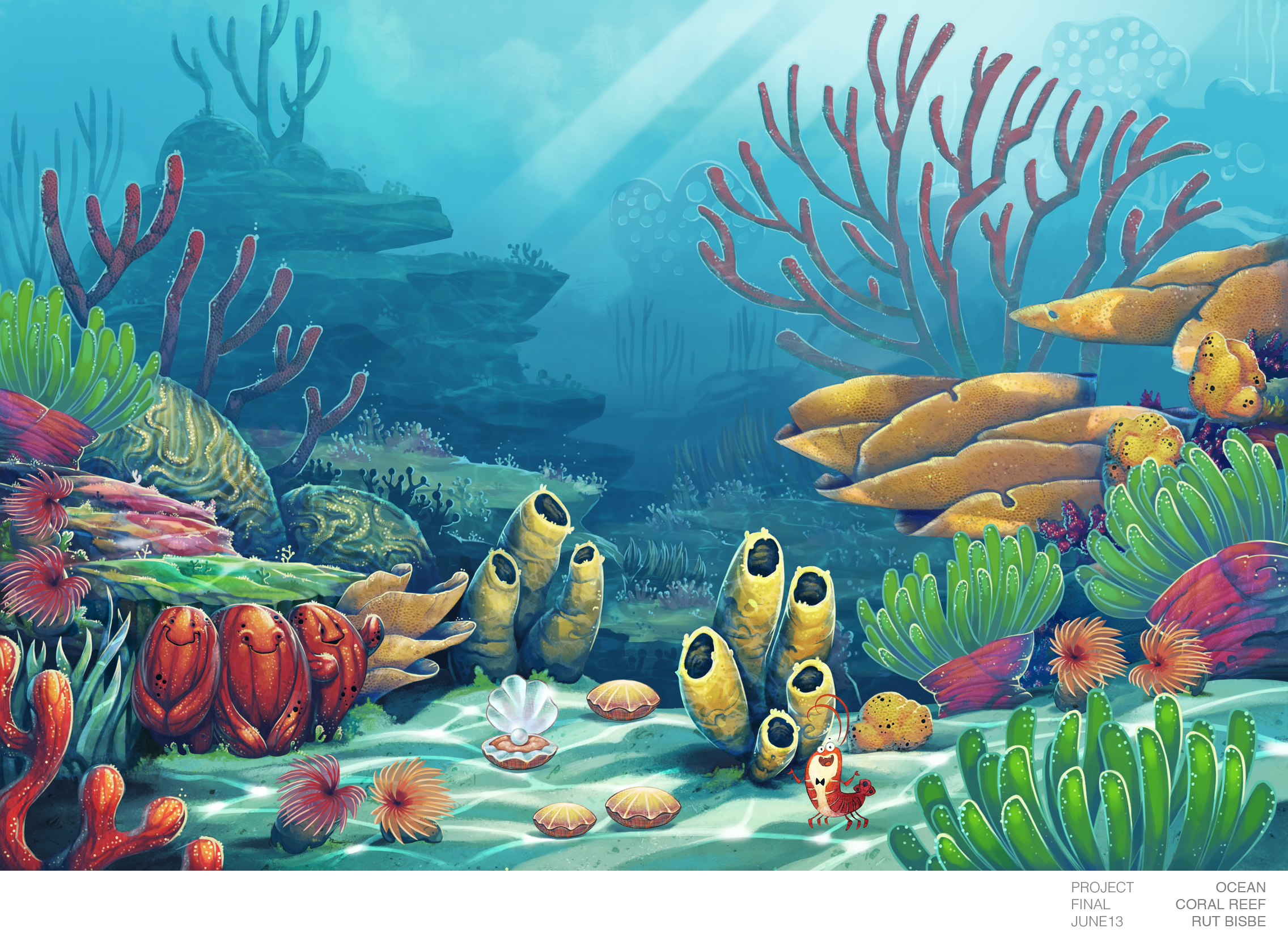 Animal Final Background From Coral Reef By Mausetta On DeviantArt