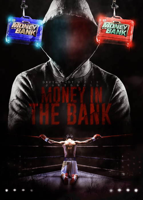Image result for Money.In.The.Bank.2013 poster