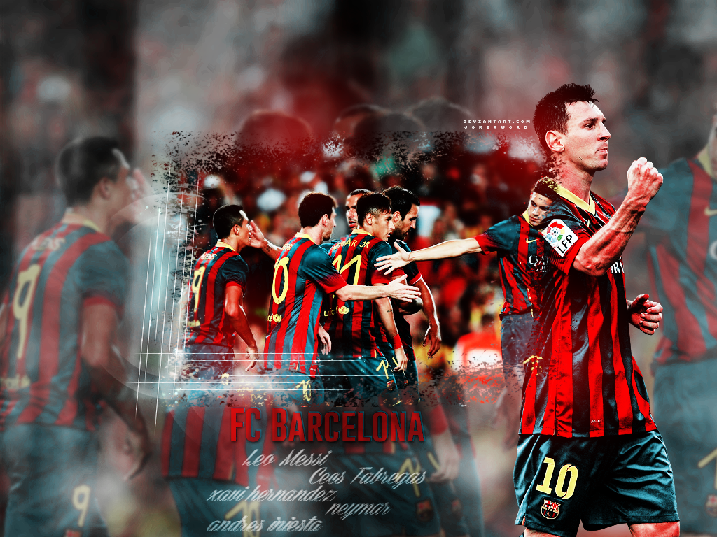 Fc Barcelona Wallpaper By JoKeRWord