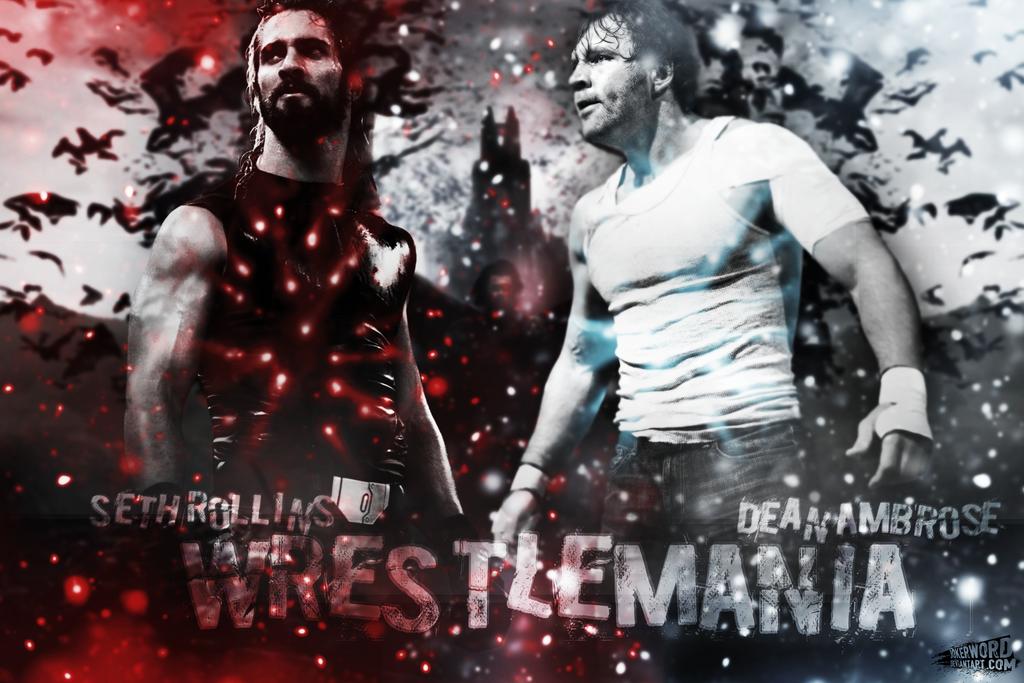Dean Ambrose Vs Seth Rollins Traffic Club