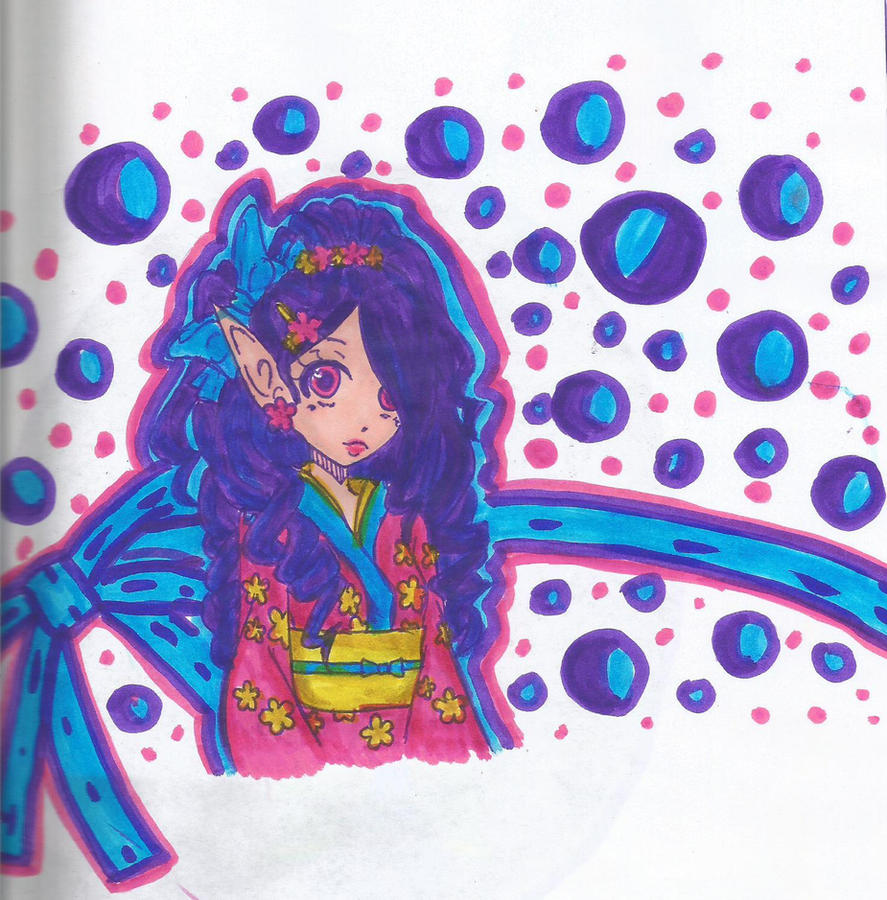 Sweet elf by KaoruKita