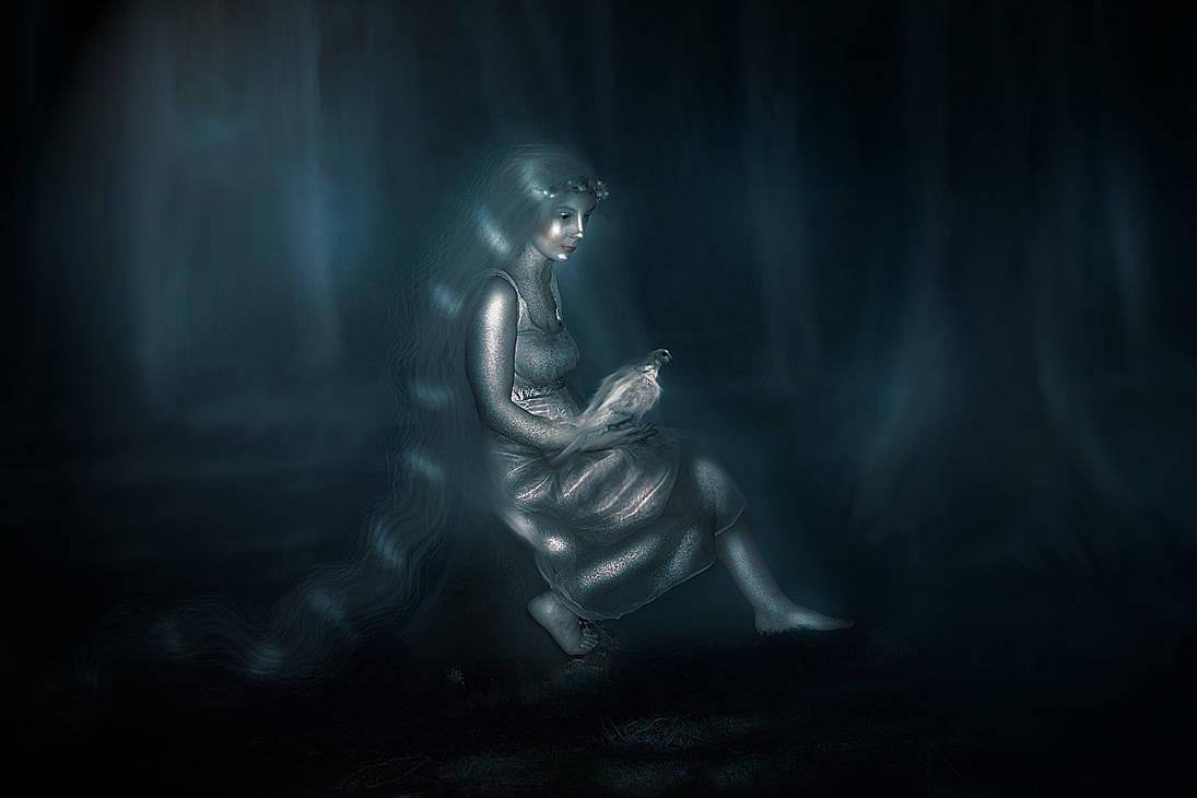 spirit of forest by Silviene