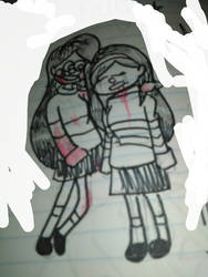 .:Mable as Frisk and Chara:.