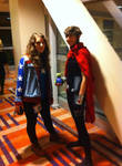 Young Avengers Cosplay by CarbonCannibal