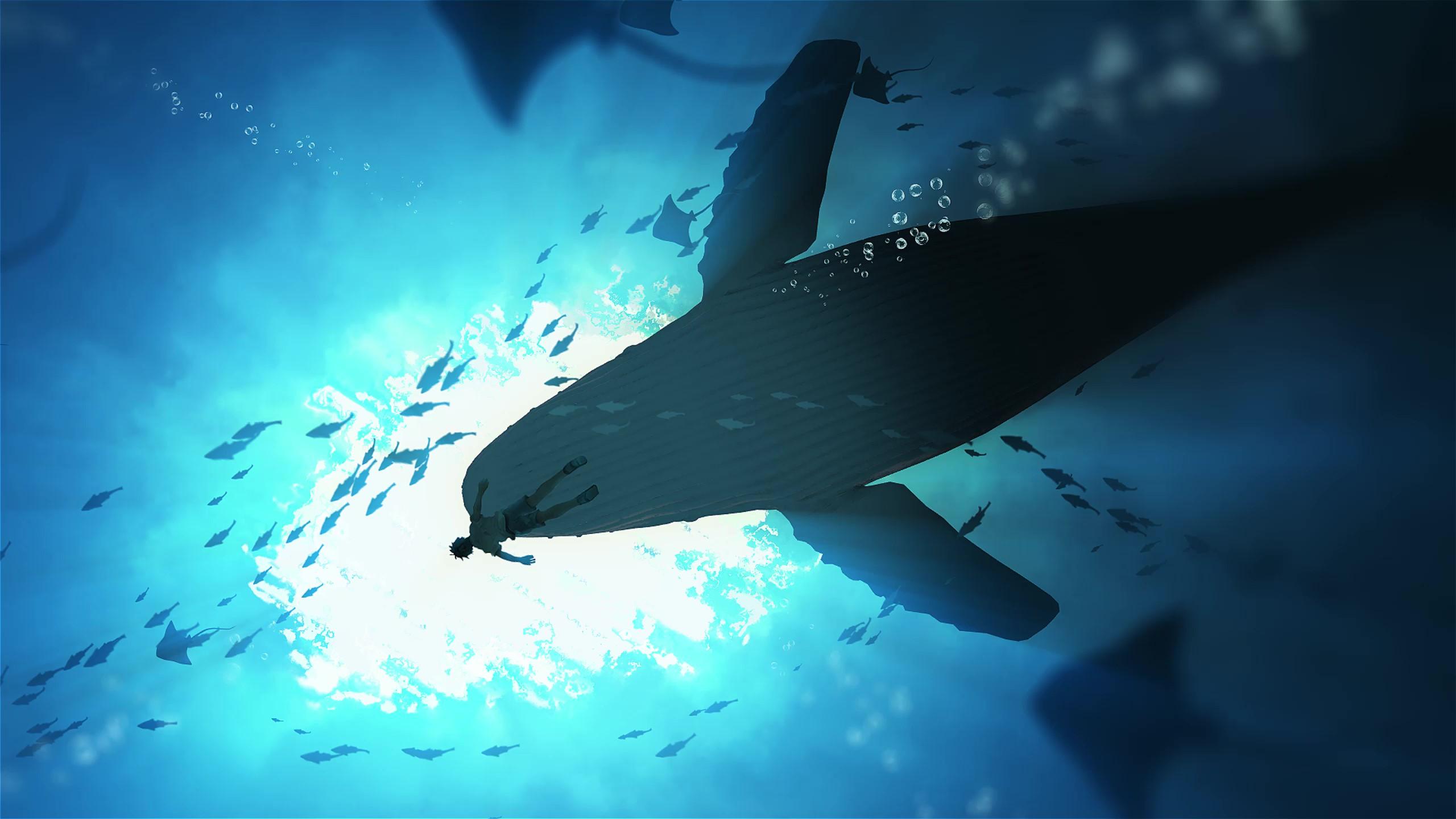 Underwater Live Wallpaper With Whales Original By Nightcoregang On Deviantart