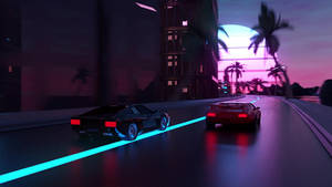 Outrun-racing-live-wallpaper