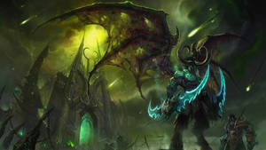 Illidan Stormrage Live Wallpaper