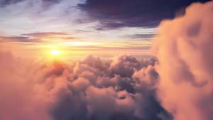 4K Sunset Cloud Live Wallpaper