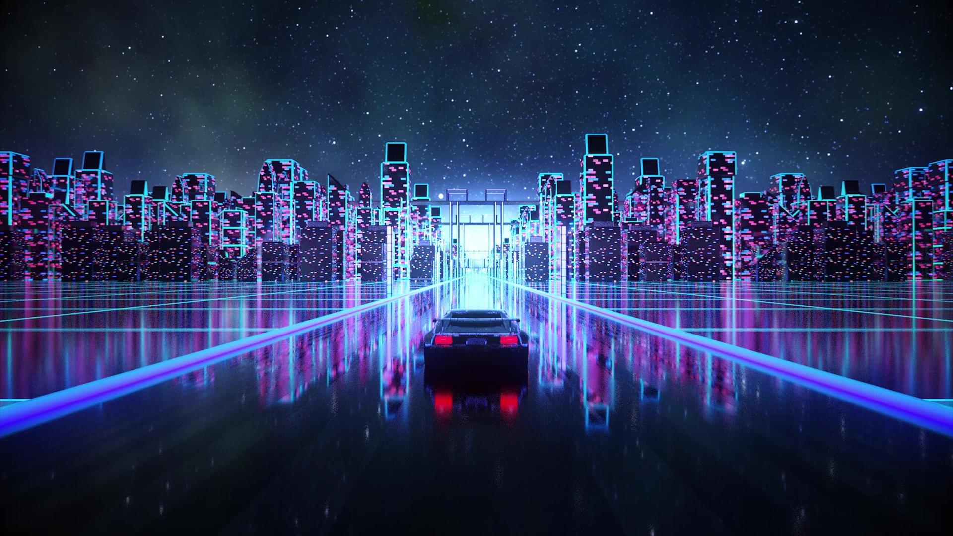 Outrun Trailblaze Car Live Wallpaper By Nightcoregang On Deviantart