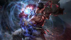 Street Fighter - Ryu Live Wallpaper