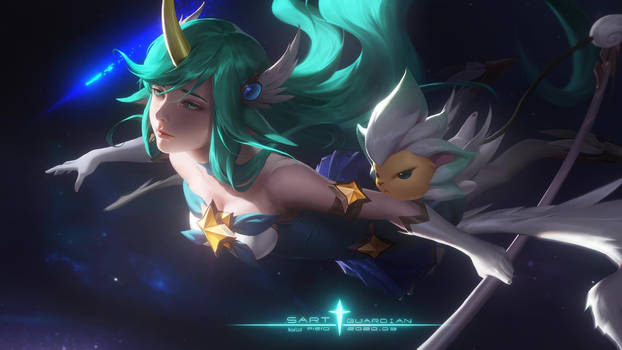 Star Guardian Soraka Live Wallpaper Featured Image