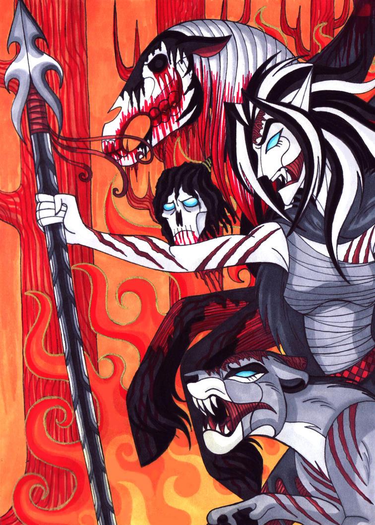 Wrath II by WhiteFangKakashi300