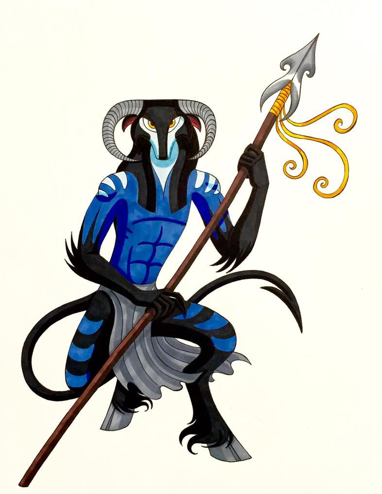 Arturo the Fomorian Guard by WhiteFangKakashi300