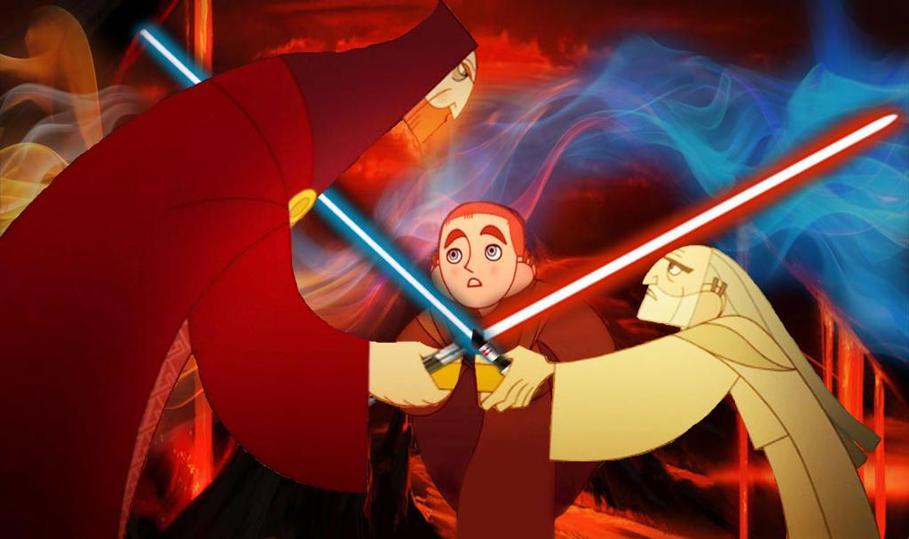 SOK: Duel of Fates by WhiteFangKakashi300
