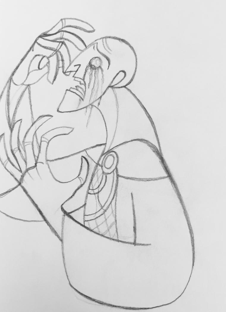Sketchdump: A Blinded Sinner by WhiteFangKakashi300