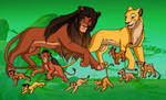 Grasslanders: Malka's Family
