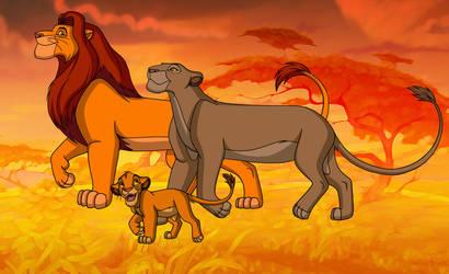 Pridelanders: Simba's Family