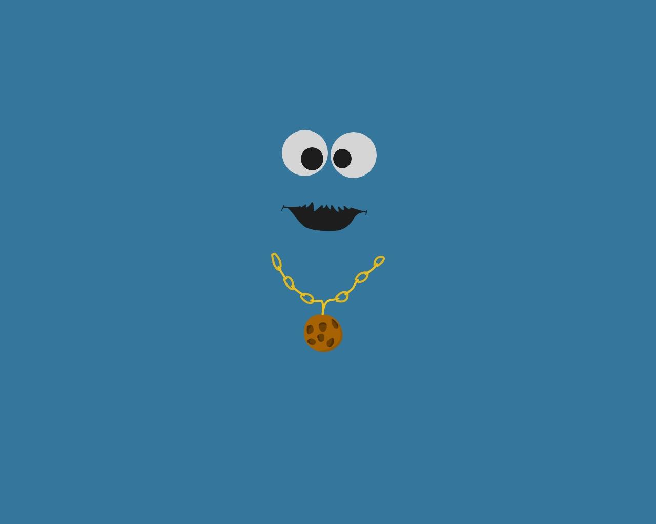 Cookie Monster Wallpaper By Ridospl On Deviantart