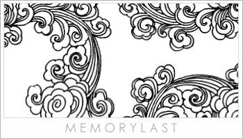 Chinese Swirl Brushes by memorylast