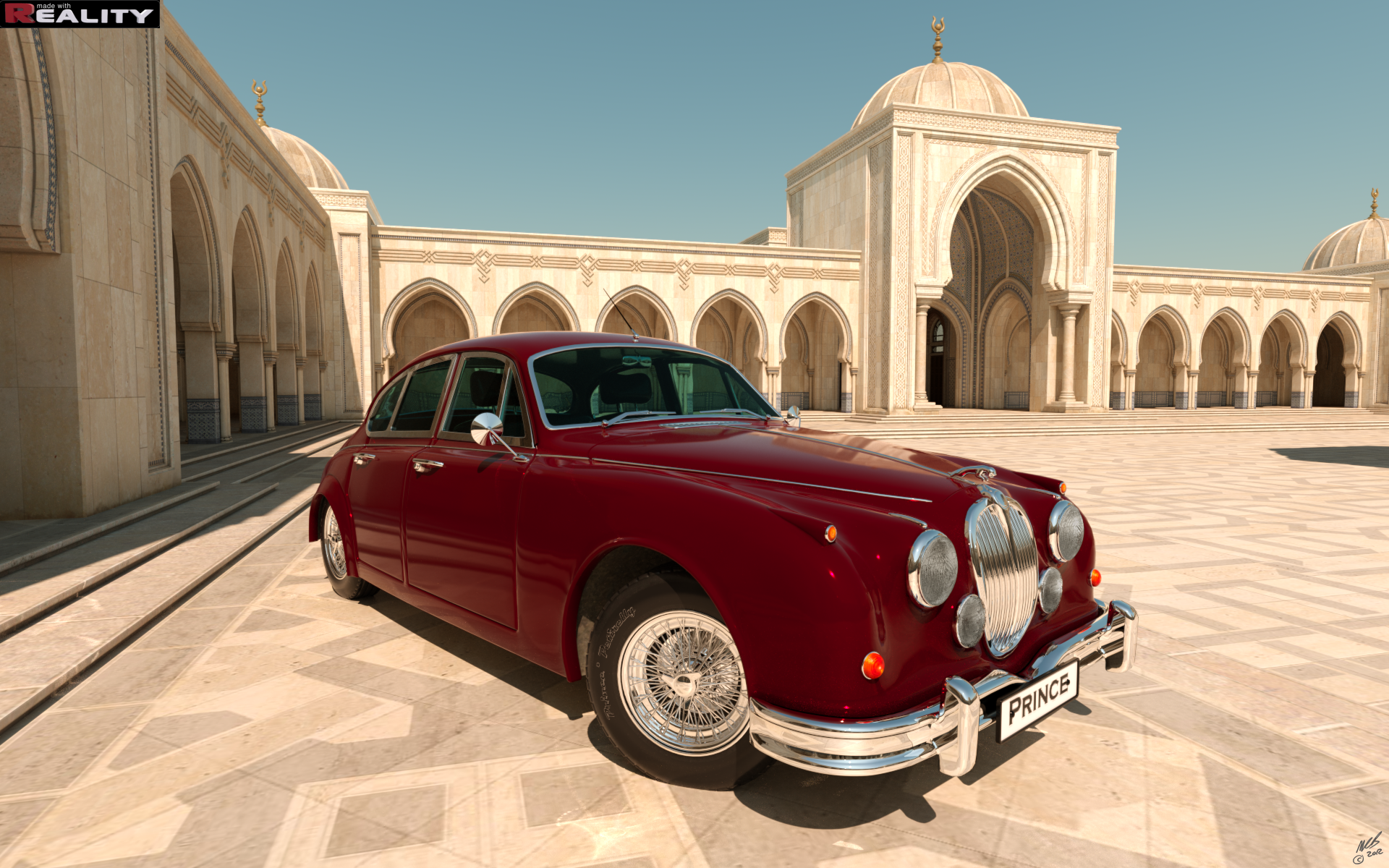 Arabian Prince II by mbinz