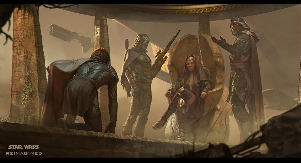 Skywalker's reunion by Nicolas-Gekko